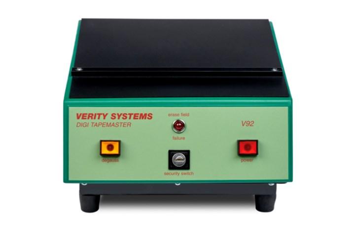 Verity Systems V92 Digitape Master Degausser