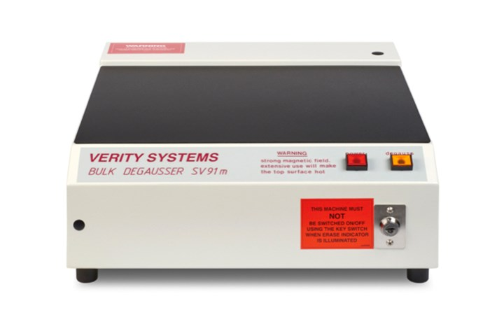 Verity Systems SV91M NATO Approved Hard Disk Degausser